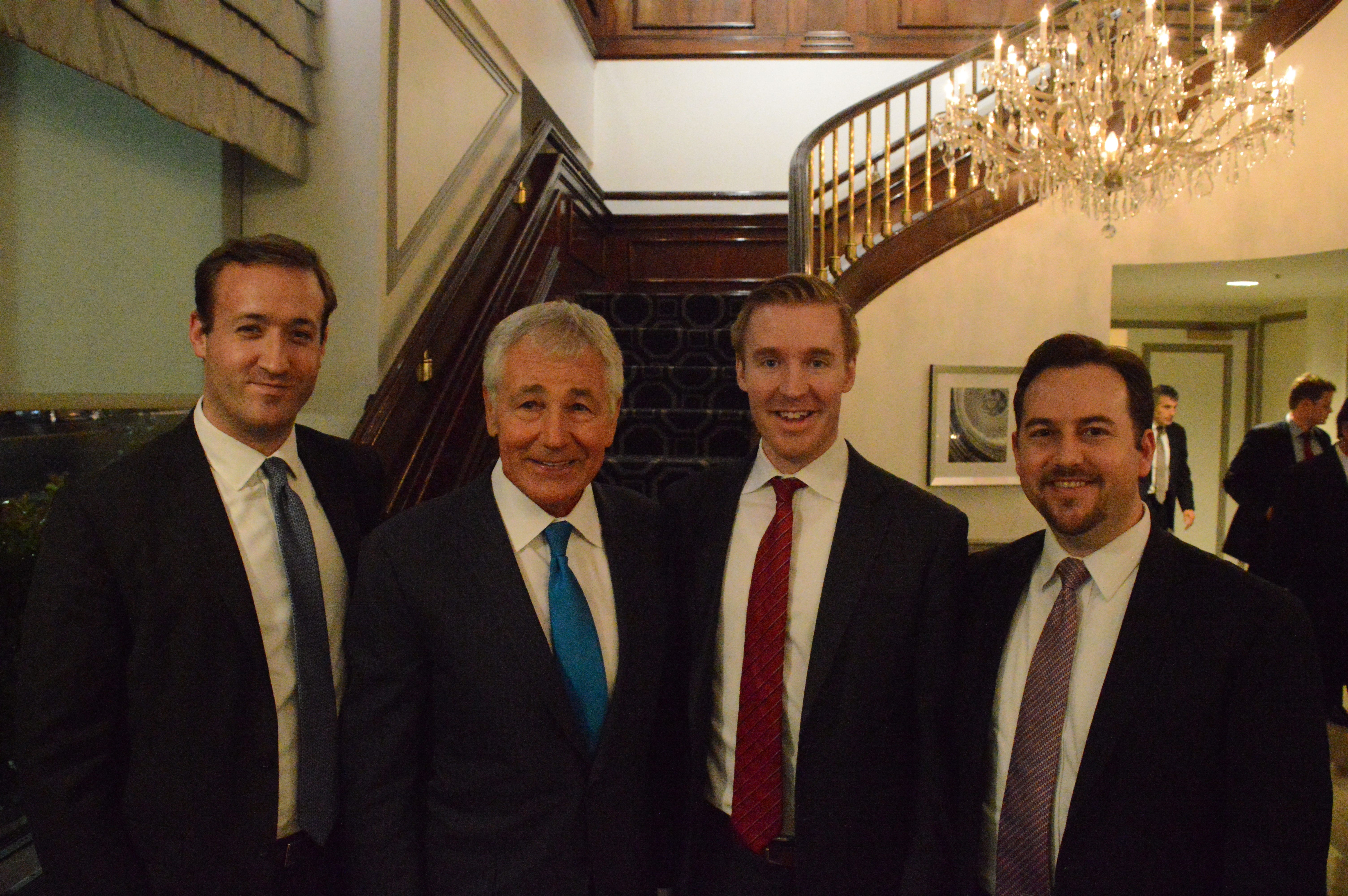 WBD Sponsors Chuck Hagel Discussion Hosted by Partnership for a Secure America